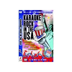 ROCK IN THE USA KARAOKE DVD