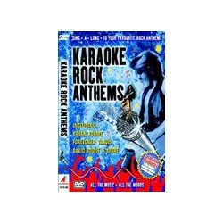 KARAOKE ROCK ANTHEMS DVD