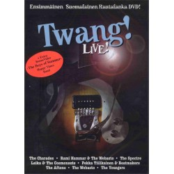 TWANG! LIVE Rautalankaa DVD