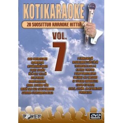 POWER KOTIKARAOKE 7 DVD