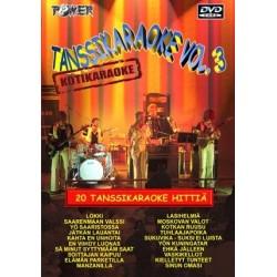 POWER TANSSIKARAOKE Vol. 3 DVD