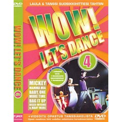 WOW! LET'S DANCE 4 DVD