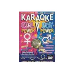 GIRL & BOY POWER KARAOKE DVD