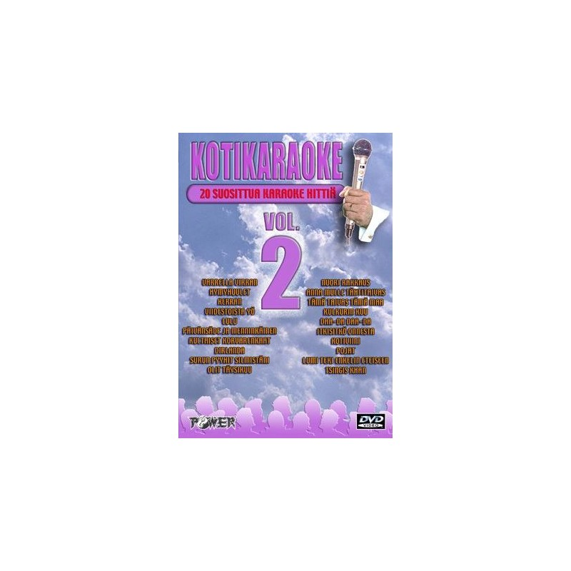 power kotikaraoke vol.2 dvd
