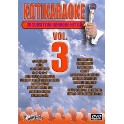 POWER KOTIKARAOKE 3 DVD