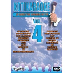 POWER KOTIKARAOKE 4 DVD