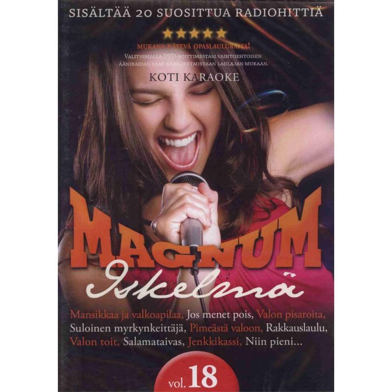 magnum iskelmä kotikaraoke dvd