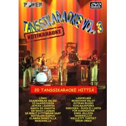 POWER TANSSIKARAOKE Vol. 3 DVD