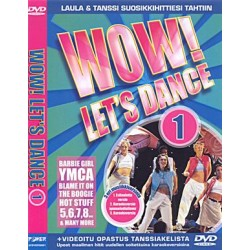 WOW! LET'S DANCE KARAOKE DVD