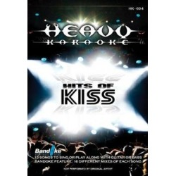 HITS OF KISS Karaoke DVD