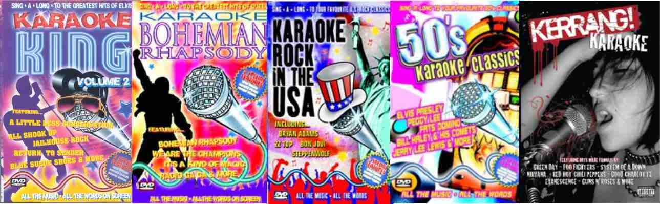 Paljon Englantilaisia karaokelevyjä
